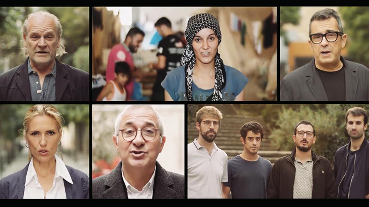 Espot de la campaña 'Casa Nostra, Casa Vostra', con participación de conocidos rostros del mundo de la cultura y la comunicación.