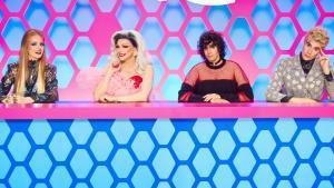 Ana Locking, Supremme de Luxe, Javier Ambrossi y Javier Calvo, en 'Drag race España'