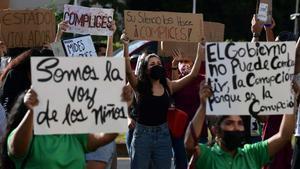 Protestas en Panamá por casos de abuso infantil en 14 albergues.