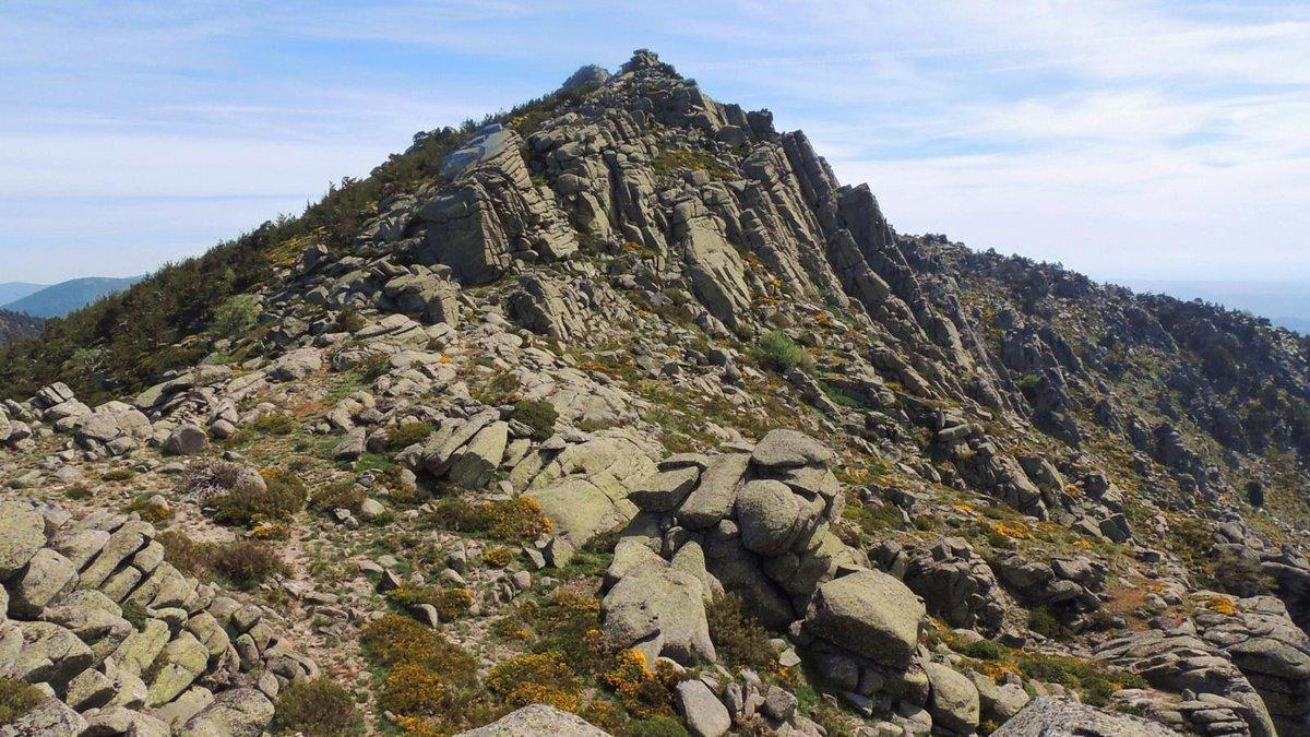 El Pico de la Peñota, en la sierra de Guadarrama.
