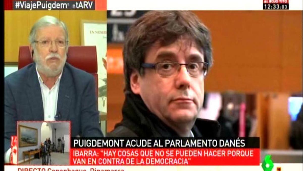 Rodríguez Ibarra y su idea del periodismo.