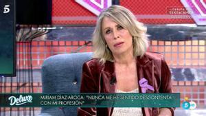 Miriam Díaz Aroca en el 'Deluxe'