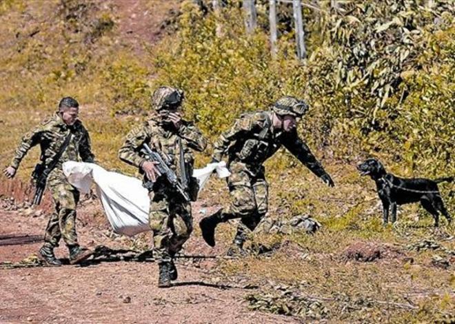 Las luchas contra los militares dejan al menos 10 disidentes de las FARC fallecidos