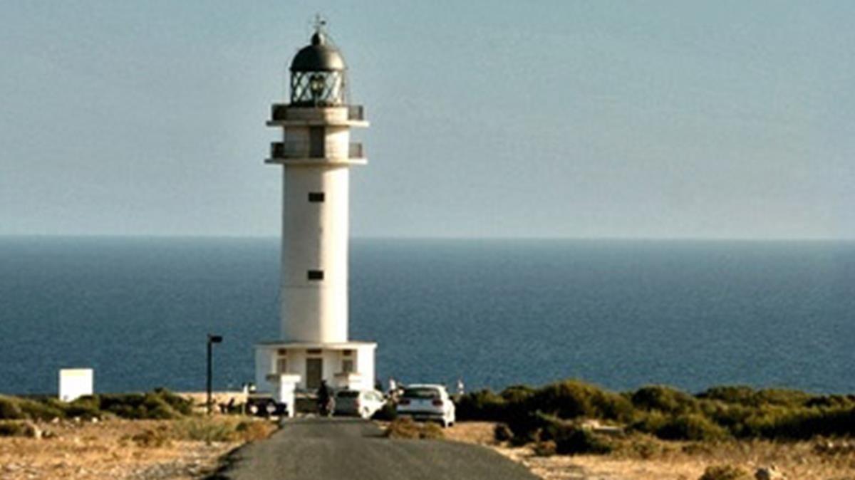 El faro del cabo de Berberia, en Formentera.