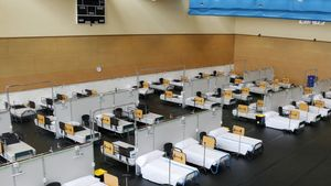 El pabellón del Instituto Guttmann, habilitado para acoger pacientes de Can Ruti.