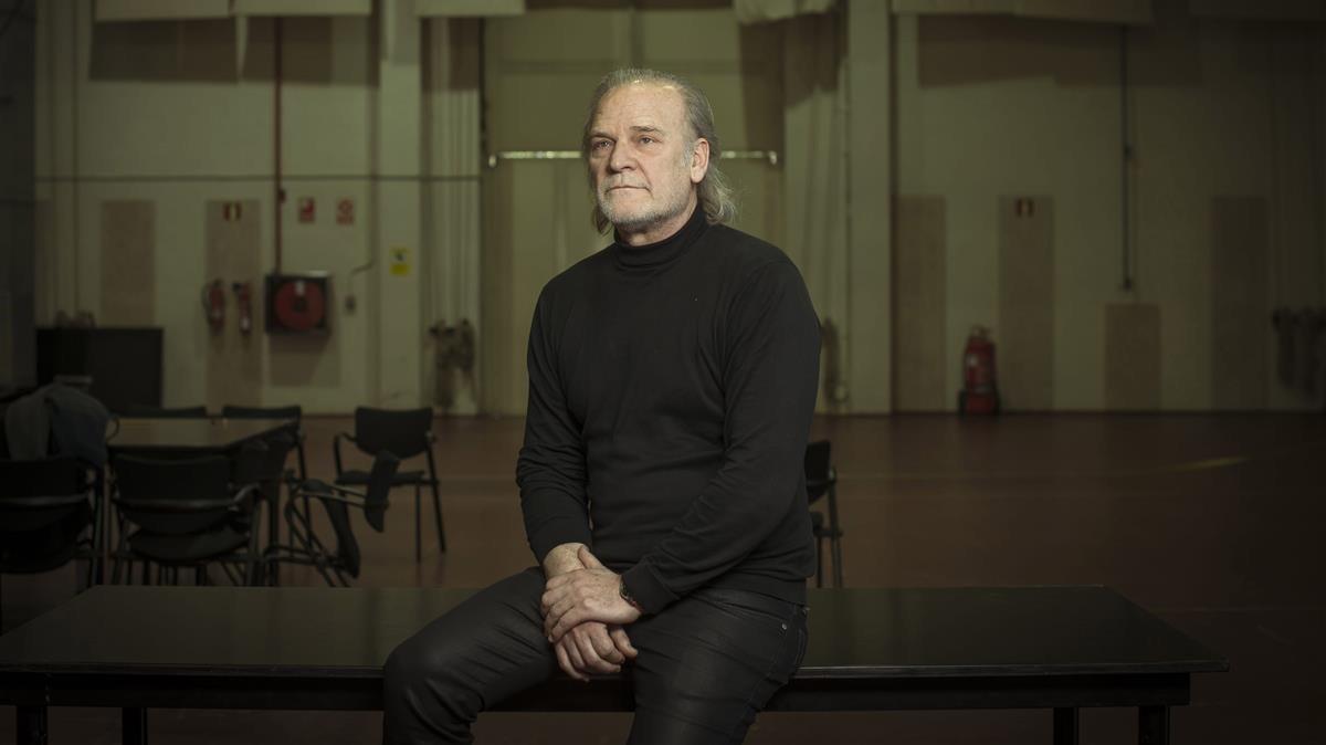 Lluís Homar, en una imagen promocional de 'La néta del senyor Lihn'