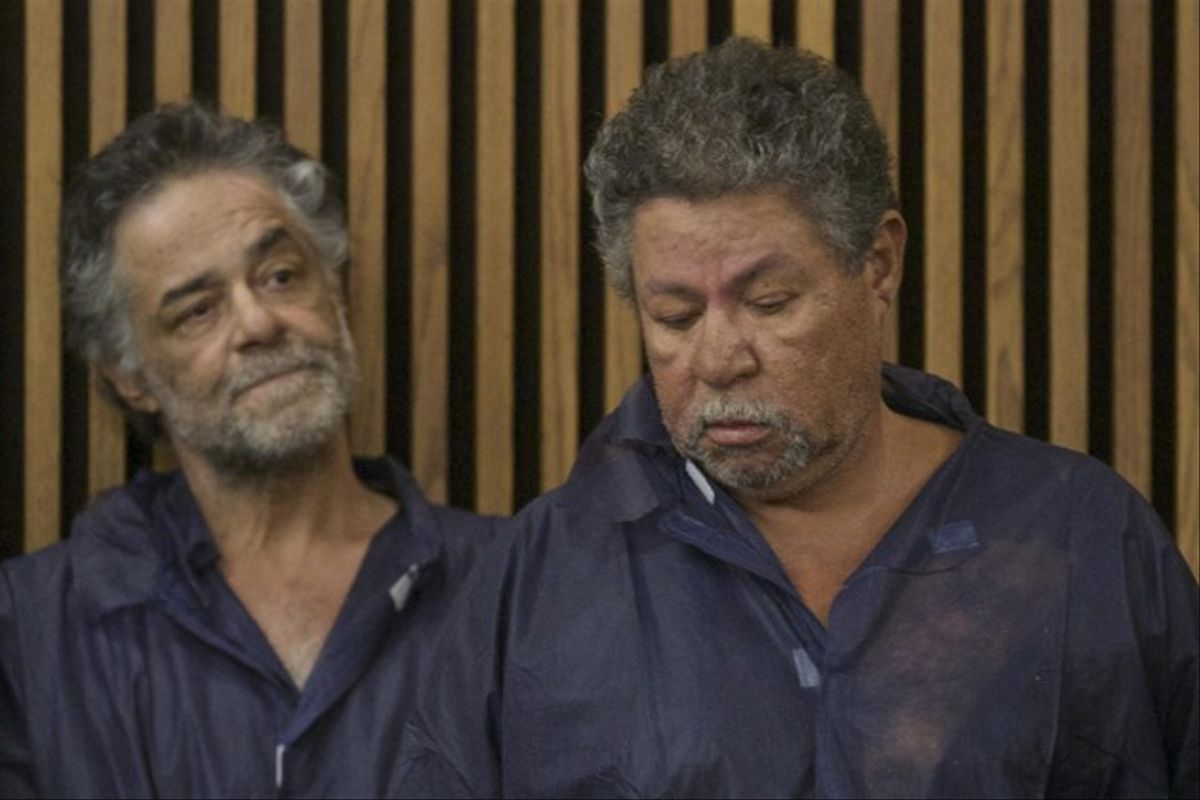 Onil Castro and Pedro Castro en su primer presentación en la corte de Cleveland.
