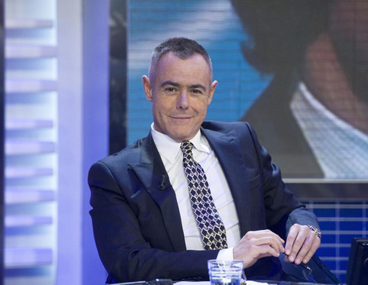 Jordi González, conductor del espacio 'El gran debate'.
