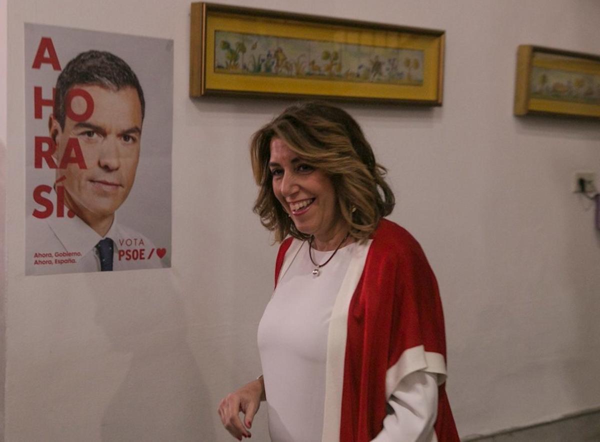 El PSOE: la continuïtat de Susana Díaz dependrà dels militants andalusos