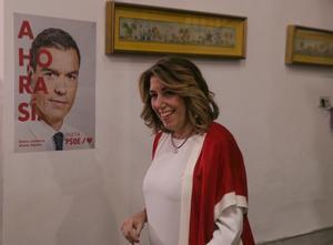 Susana Díaz, líder del PSOE de Andalucía.