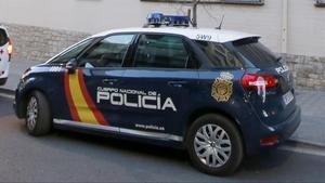 Coche de la La Policía Nacional.