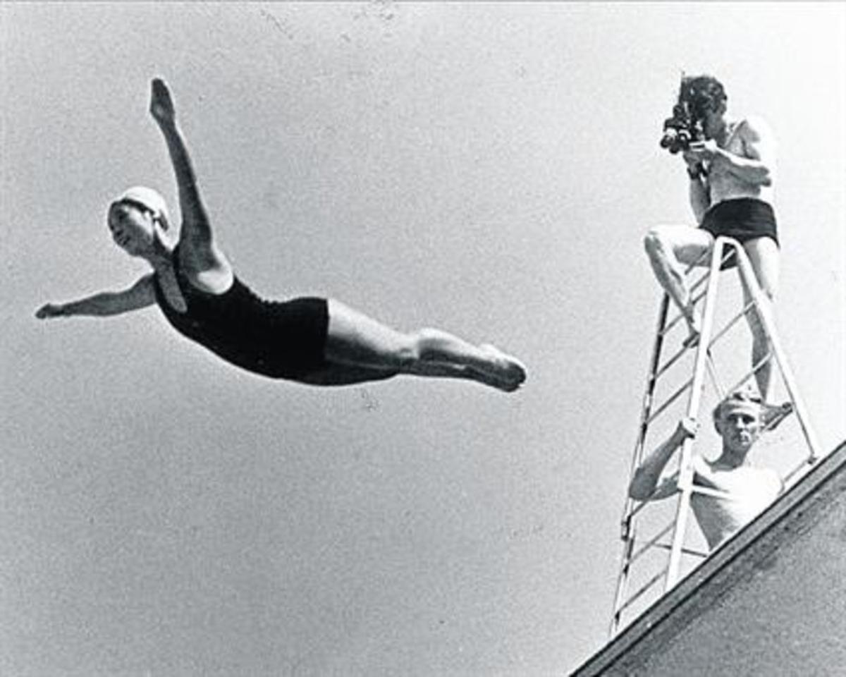 Fotograma de 'Olimpiada', de Leni Riefenstahl.