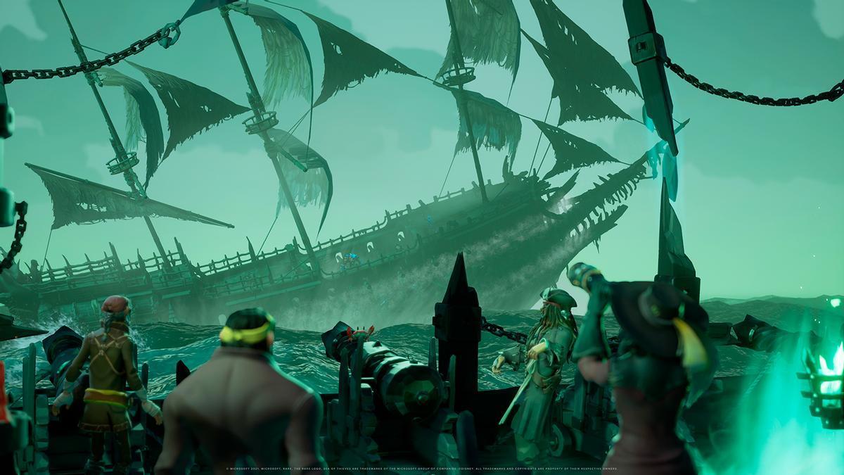 El Capitán Jack Sparrow se alista en la tripulación de Sea of Thieves