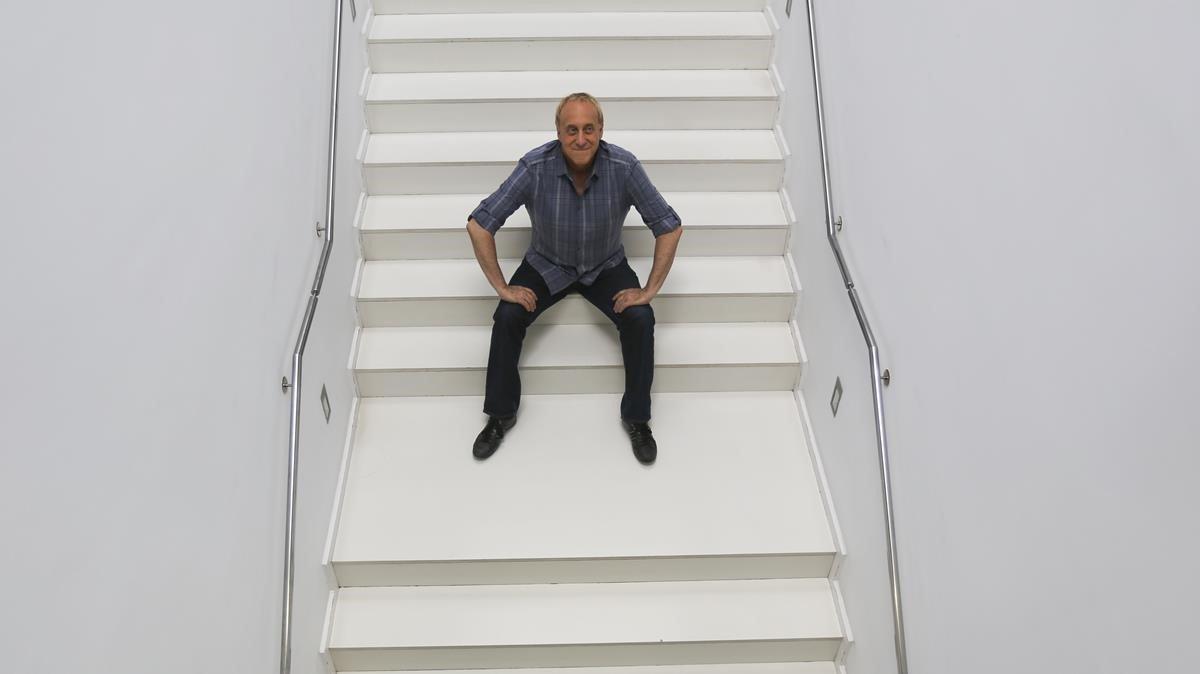 El músico y productor televisivo Josep Maria Mainat.