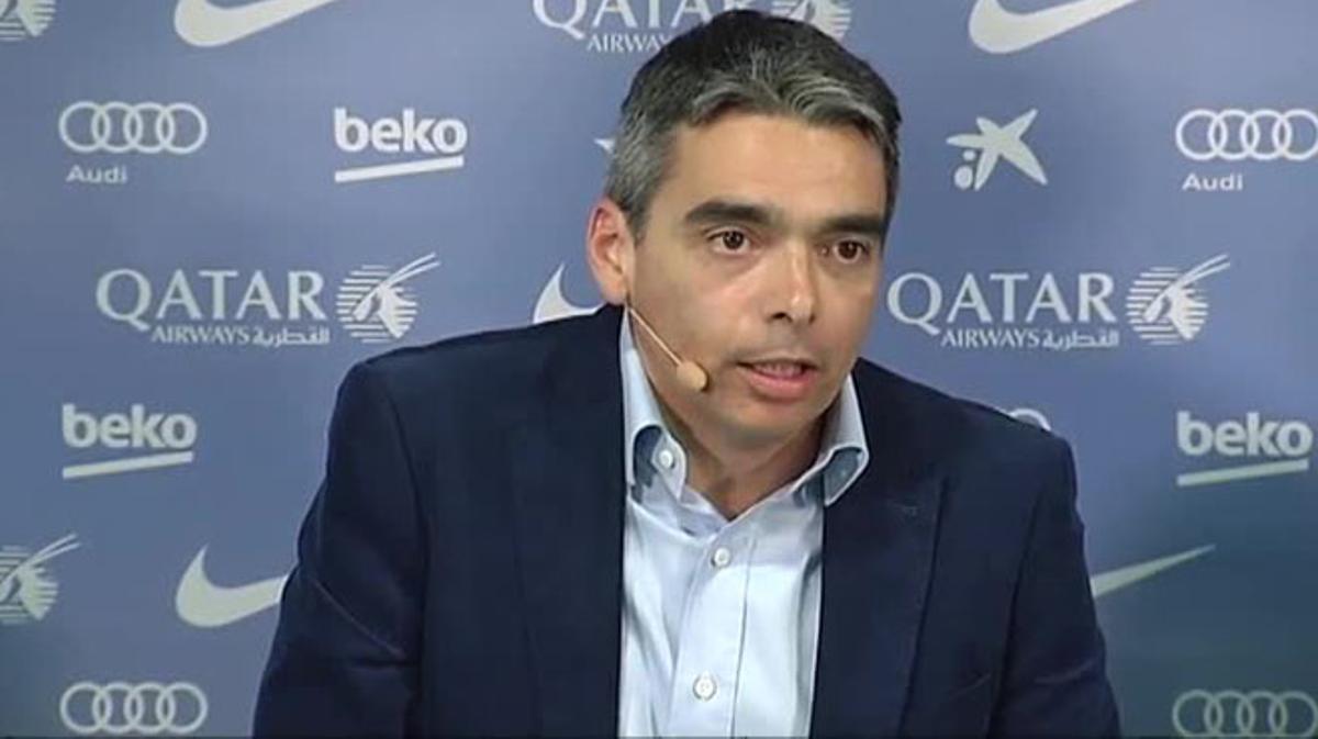 Albert Soler, director de deportes profesionales del Barça,defiende el modelo de la Masia frente a la FIFA