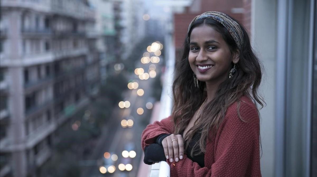 Tehja Genard, la joven que denunció insultos racistas en un transporte público.