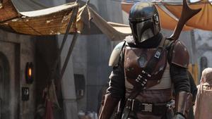 Una imagen de 'The Mandalorian',serie 'spin off' de 'Star wars' que está preparando Disney.