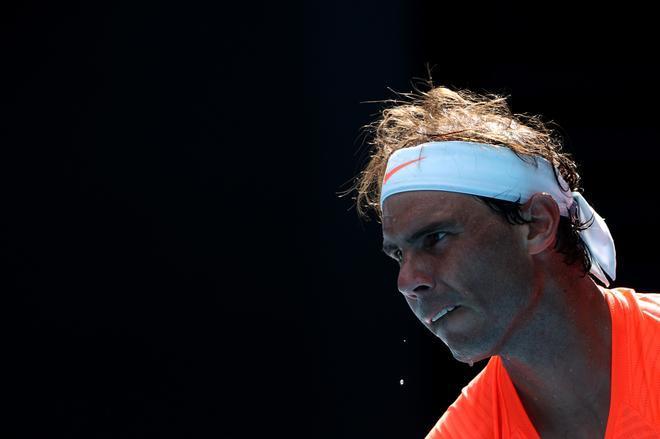 Rafa Nadal se enfrenta a Fabio Fognini en el Open de Australia.
