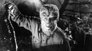 Lon Chaney, en el clásico 'El hombre lobo'