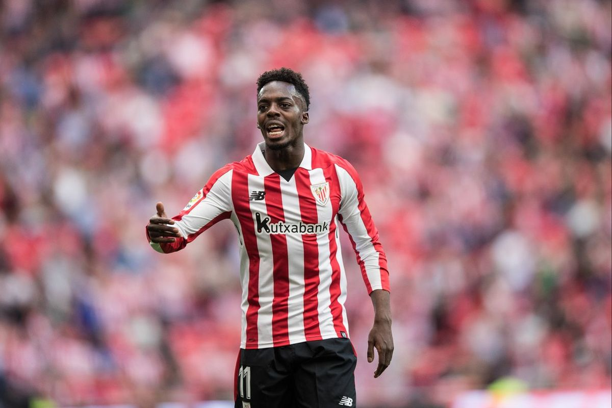 El jugador del Athletic de Bilbao Iñaki Williams.