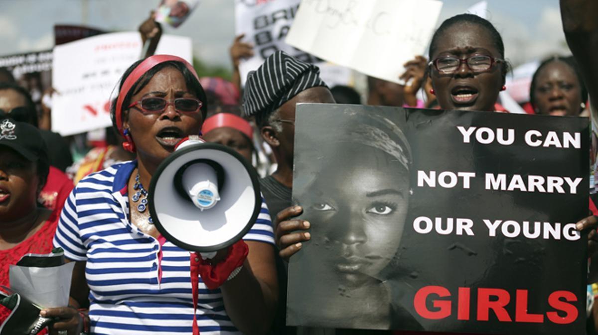 Una de las menores, que ha logrado escapar, afirma que algunas sufren hasta 15 violaciones al día.