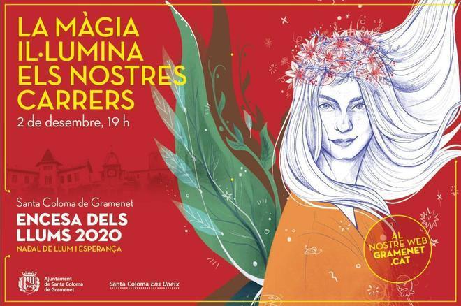 Santa Coloma inaugura la temporada navideña con un impulso al comercio local