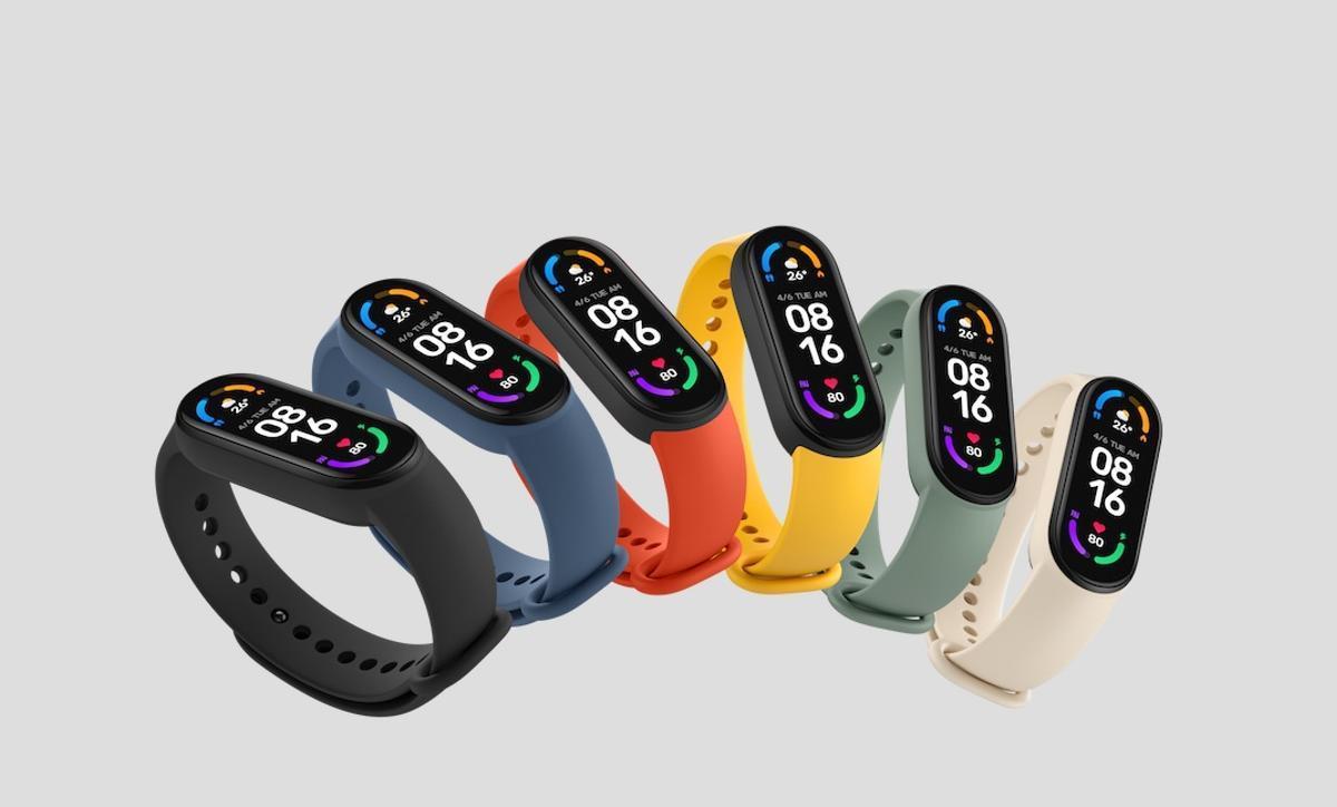 Nueva pulsera de Xiaomi.