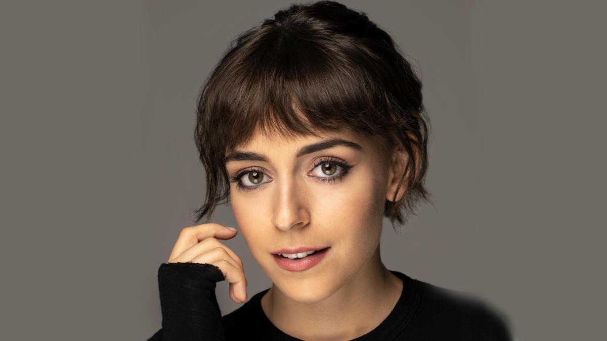 La actriz Lucía Caraballo.