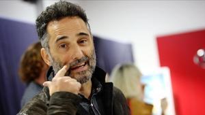 Jorge Drexler, el jueves en Barcelona.