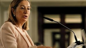 Ana Pastor, en undesayuno informativo de Europa Press.