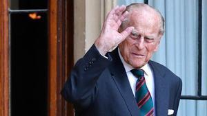 El duque de Edimburgo, en julio del 2020.