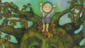 Ilustración de 'El niño y el árbol', de la valenciana Viví Escrivà.