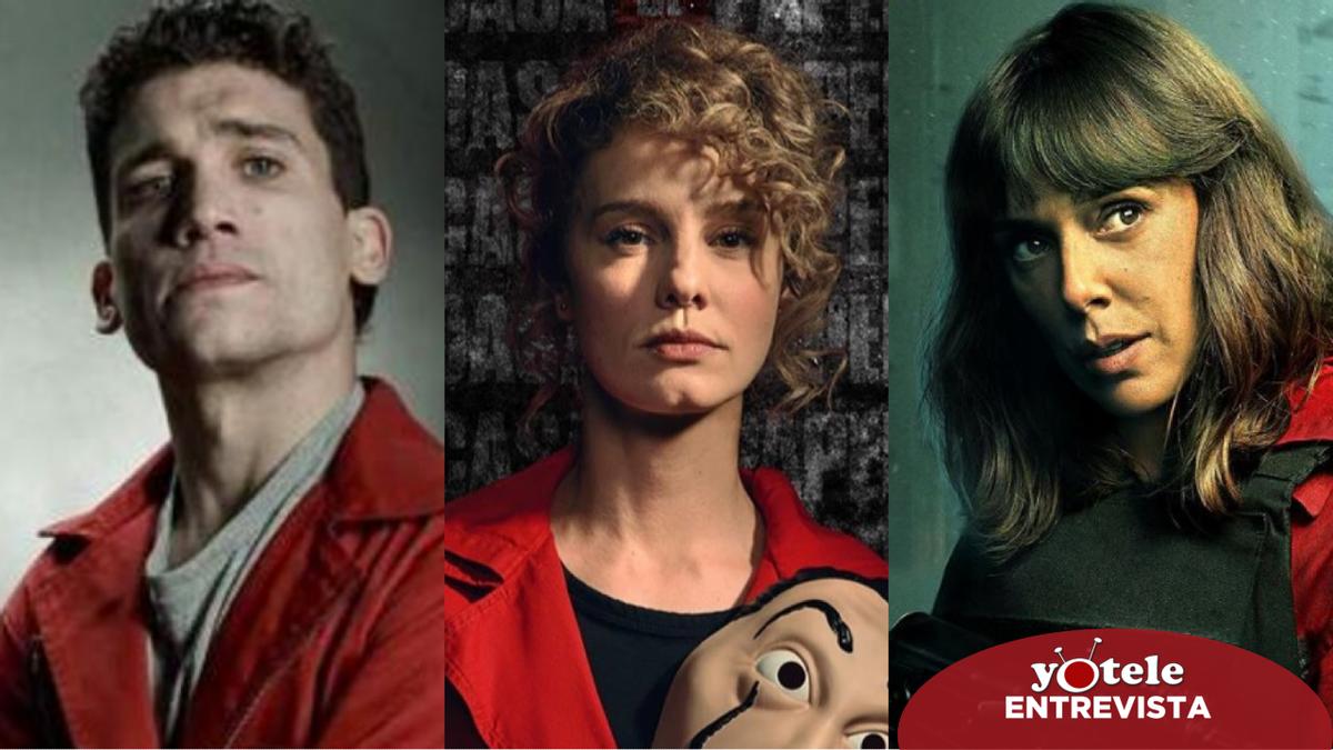 """Jaime Lorente, Esther Acebo y Belén Cuesta: """"Una serie como 'La casa de papel' es un arma de doble filo"""""""