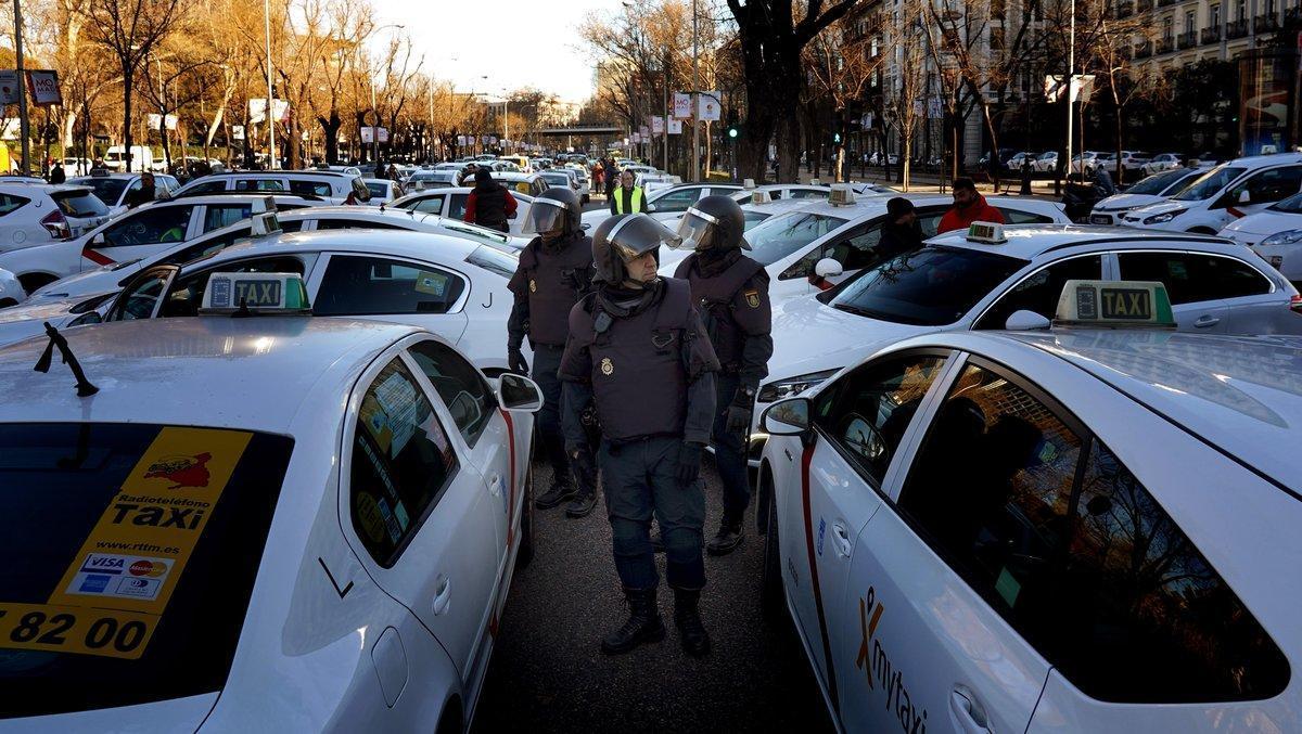 La imatge del taxi