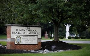 Entrada de ladiócesis de Harrisburg, en el estado de Pensilvania, EEUU.