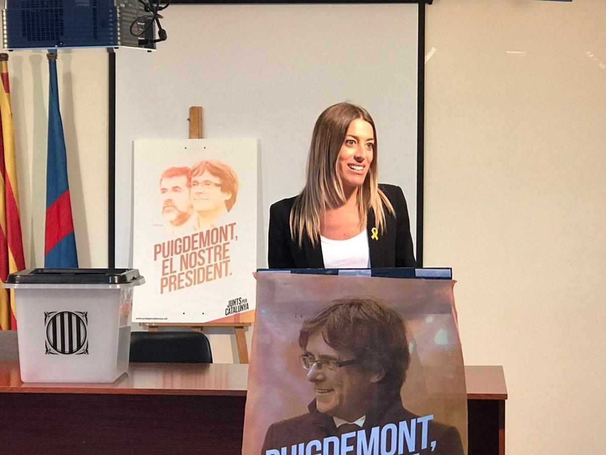 Miriam Nogueras, candidata de Junts per Mataró.