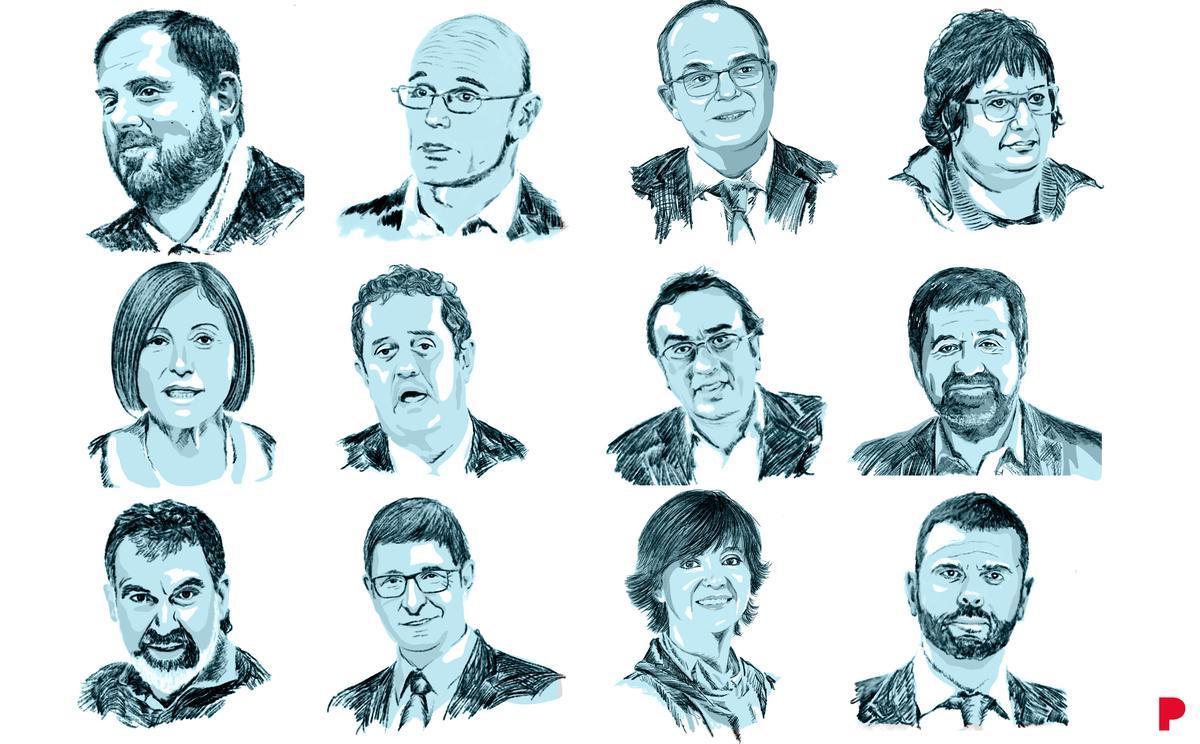 Gráfico   Así quedan las penas de los presos del 'procés' tras los indultos