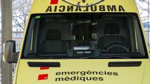Ambulancia del SEM.