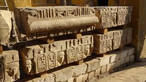 Nova troballa faraònica: el Museu Egipci de Barcelona descobreix les restes d'un temple de Ptolemeu I