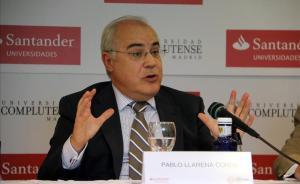 El juez Pablo Llarena, en un curso de verano de la Complutense en El Escorial.