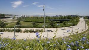 Parque de la Marina de Viladecans.