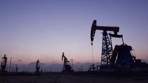 Campo petrolífero en China.