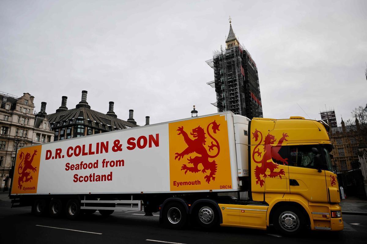 La 'marea' del Brexit, una llosa per als pescadors escocesos