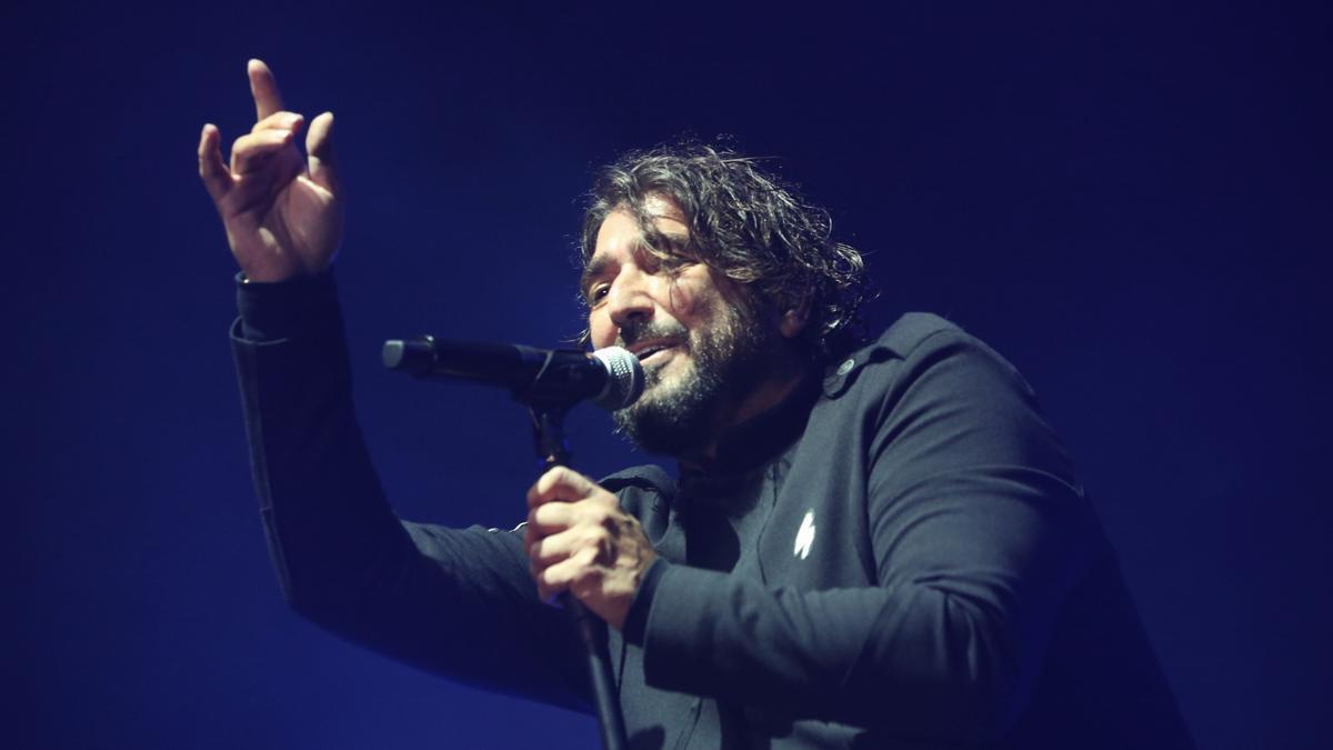 Antonio Orozco, en el Sant Jordi Club, este jueves.