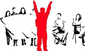 Huelga en la universidad