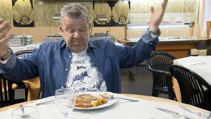 Alberto Chicote en 'El cantábrico', el primer buffet libre de 'Pesadilla en la cocina'.