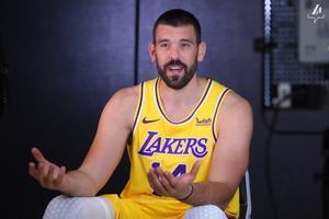 Marc Gasol brilla en su debut con los Lakers