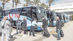 """Alemanes en Mallorca: """"Nos tomamos un respiro del covid"""""""