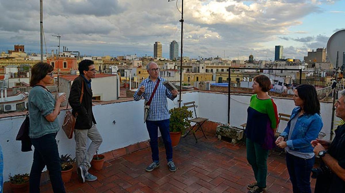 Una ruta por las azoteas privadas de Barcelona, iniciativa de la plataforma Barcelona Rooftops.