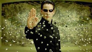 Keanu Reeves, Neo, protagonista de la saga 'Matrix'.